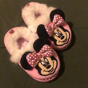 Toddler Minnie Mouse Slippers